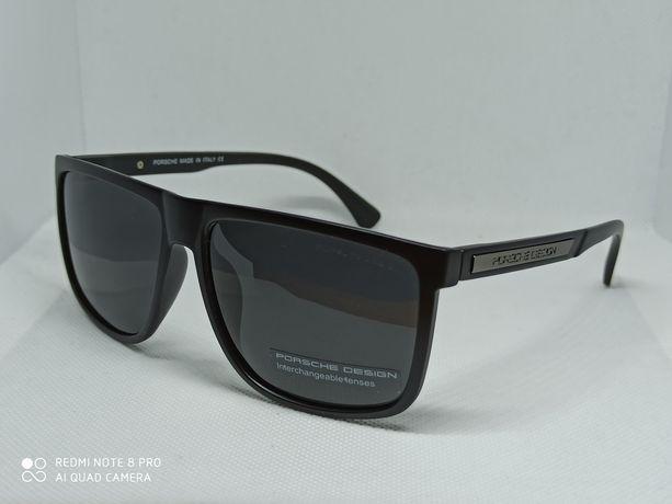 Стильные солнцезащитные очки PORSCHE DESIGN антибликовые с поляризацие