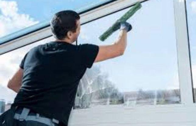 Limpeza de vidros profissional