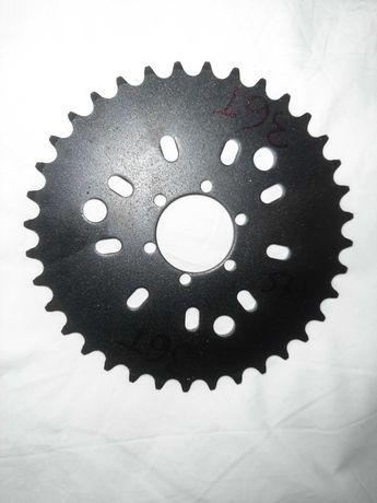 cremalheira de bicicleta a motor 36 dentes passo 415 bina