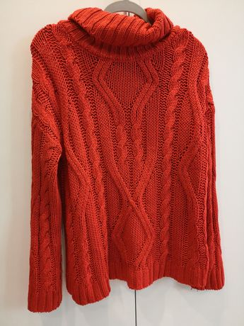 Gruby sweter S