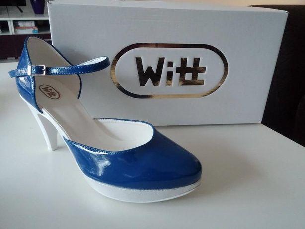 Chabrowe obuwie ślubne znanej firmy WITT!
