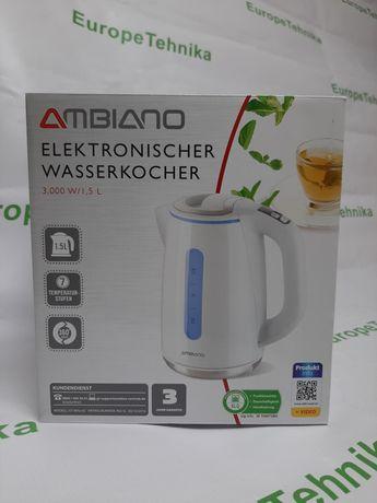 Електрочайник Ambiano Германия