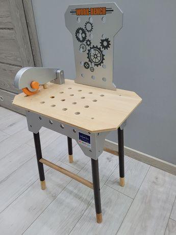 Warsztat dla chłopca drewniany j nowy