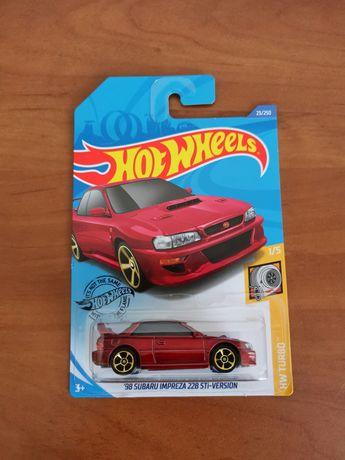 Subaru Impreza STI Model Hot Wheels Nowy!