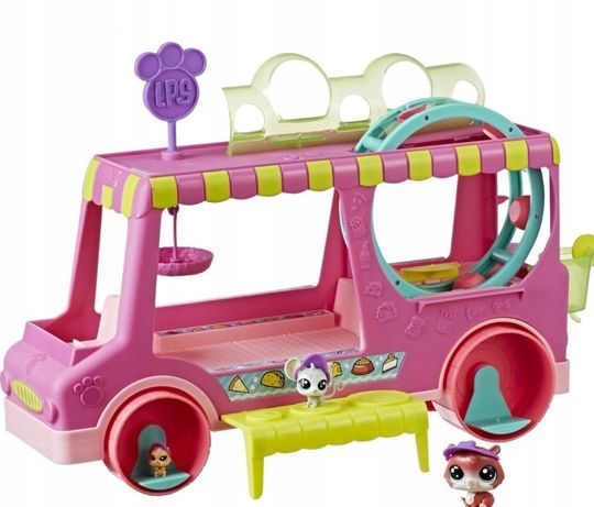 LITTLEST PET SHOP food truck autobus