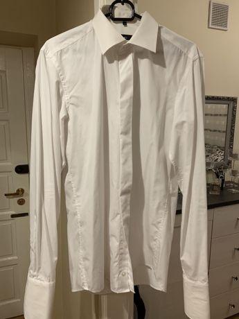 Koszula do garnituru z mankietami