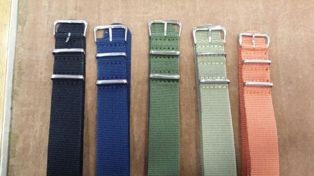Bracelete lisas Nato 22mm