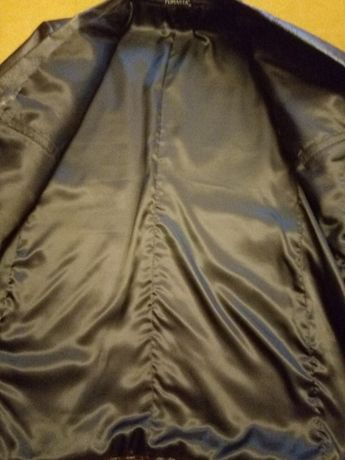 Кожаный пиджак / рр 52-54