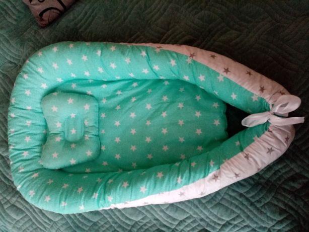 Продам кокон +подушка для малыша