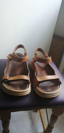 Skórzane polskie sandały