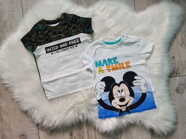 Koszulki chłopięce - nowe