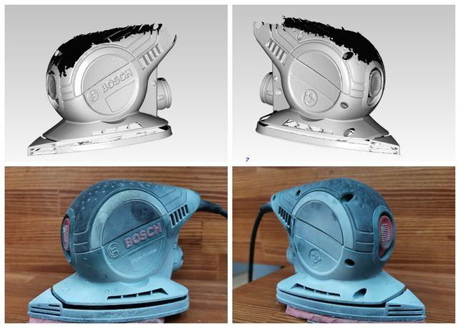 3D сканирование / Реверс инжиниринг / 3D сканування / CAD