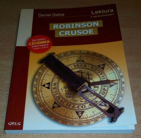 Daniel Defoe Robinson Crusoe lektura z opracowaniem