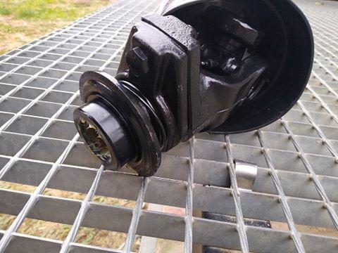 Wałek odbioru mocy WOM SPT T45 620 N.m śruba zrywalna