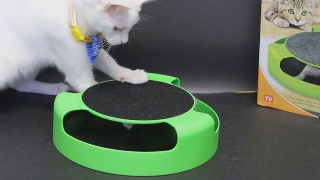 Интерактивная игрушка когтеточка для котов Catch Mouse