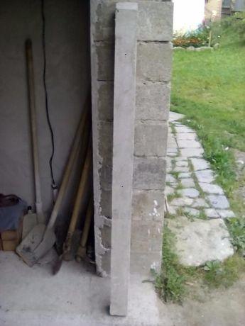 Стовпчики цементні, 10 штук.