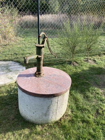 Pompa abisynka, idealna studnia do ogrodu - sprawna