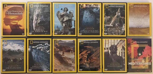 Lote 12 DVDs - National Geografic (originais)