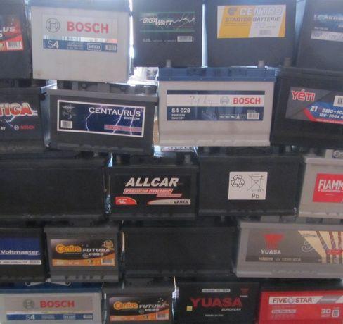 Akumulatory samochodowe 30-120Ah 40, 50, 60, 70, 74, 80, 90, 100...