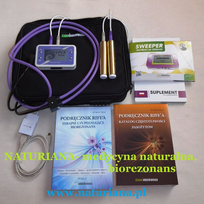 Zapper Sweeper Biorezonans- usuwanie pasożytów,pleśni,bakterii,wirusów Jelenia Góra - image 1