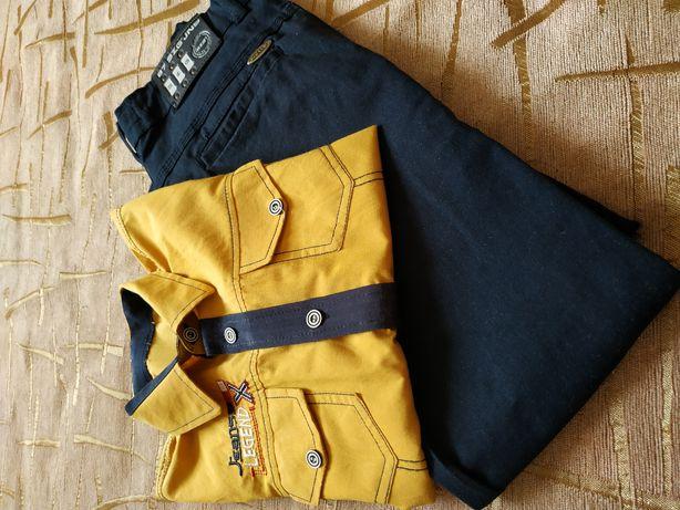 Штани і сорочка для хлопчика.