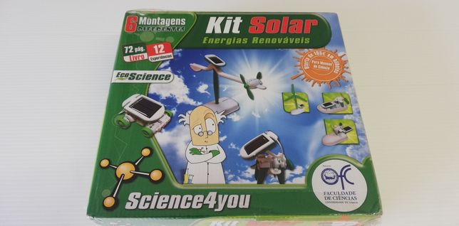 Kit Solar 6 em 1 Energias Renováveis