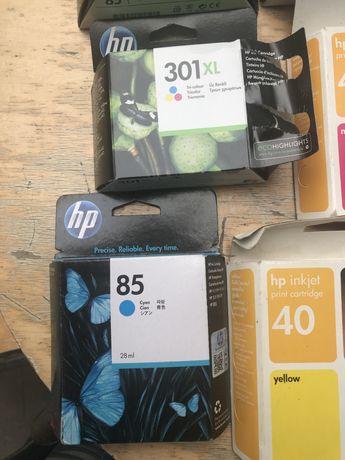 Tinteiros HP varios modelos, todos novos selados