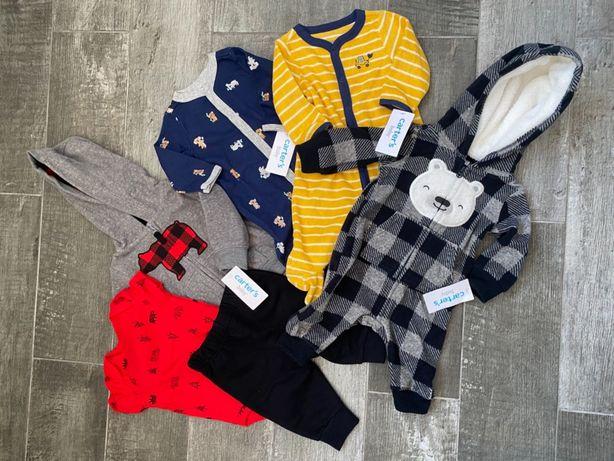 Новый набор одежды от Carter's, 3 месяца
