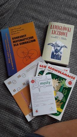 Sprzedam książki i łamigłówki matematyczne