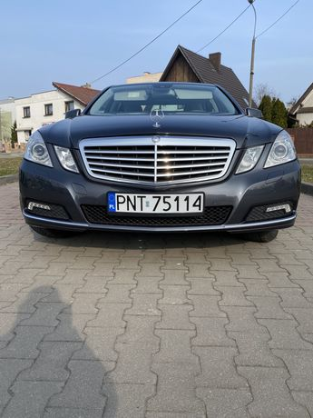 Mercedes E W212 stan perfekcyjny