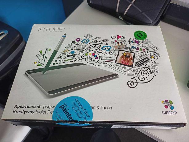 Tablet graficzny Wacom Intuos Pen&Touch CTH-480S-RUPL idealny stan