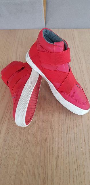 ZARA buty skórzane chłopięce lekko ocieplanie roz. 38