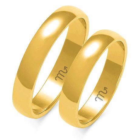 GRAWER Piękne Klasyczne Obrączki 333 Złote 2 3 4 5 6 mm (585) Ślubne