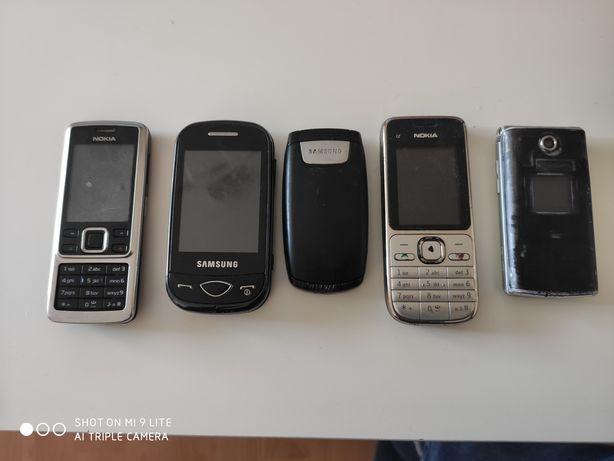 Zamienię 5 telefonów