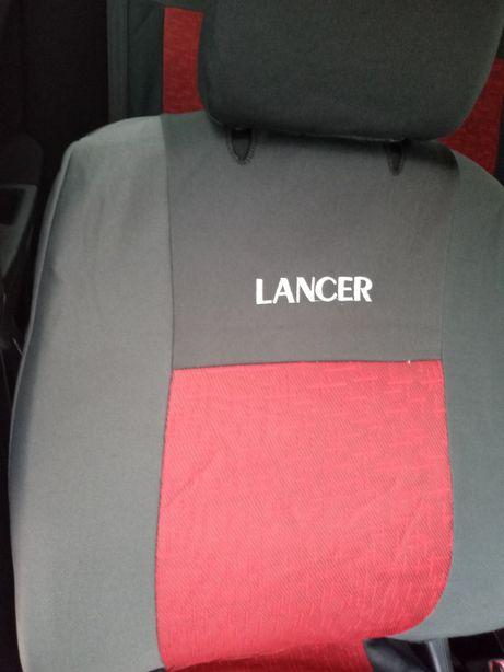 Чехлы авточехлы велюр Лансер 9, lancer x, lancer 10