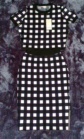 Elegancki komplet koszulka + spódnica | Liviana Conti