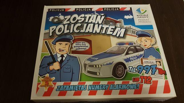 Gra planszowa zostań policjantem
