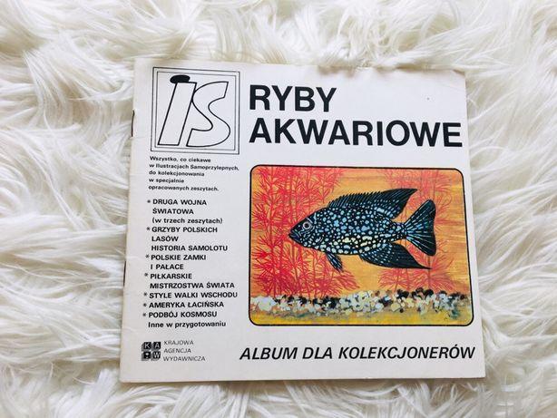 Ryby akwariowe album dla kolekcjonera ksiazka Prl