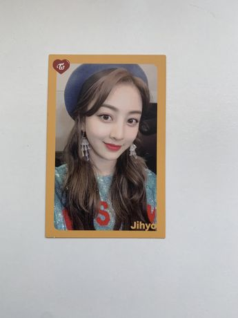 TWICE Jihyo Card - What Is Love?