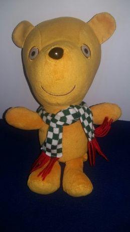 Игрушка свинка Пеппа медвежонок Тедди, мягкий 30 см
