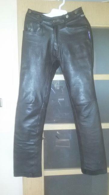 Flying Eagle spodnie skórzane motocyklowe obwód 78 cm