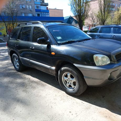 Продам Хундай Санта ФЕ Украинская+местная регистрация ГАЗ-Бензин