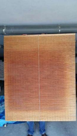 Estore extensível, em madeira, muita qualidade