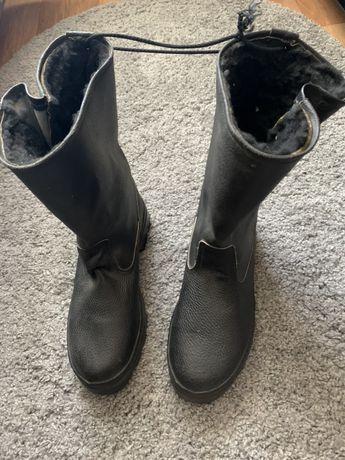 Чоботи зимові, ботинки мужские
