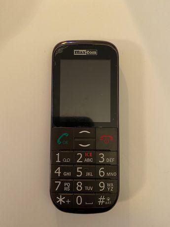Telefon dla seniora MaxCom