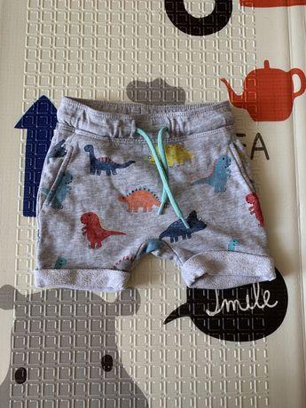 Детские шорты H&M 6-9 мес