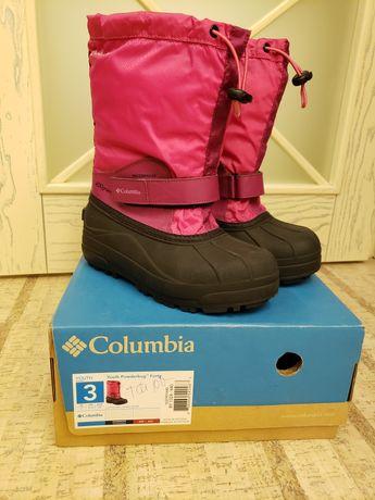 Зимние сапоги Columbia Youth Powderbug Forty 34 сапожки ботинки чоботи