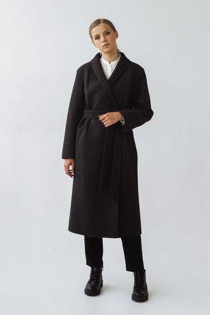 Пальто чорне vovk