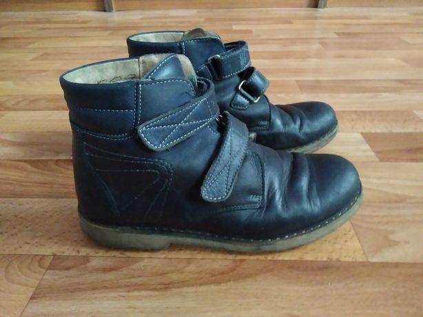 Ботинки кожа для мальчика фабрики Берегиня