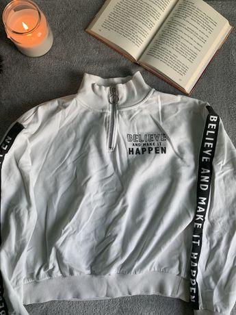 bluza biała h&m 158/164